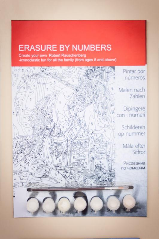 Erase by Numbers