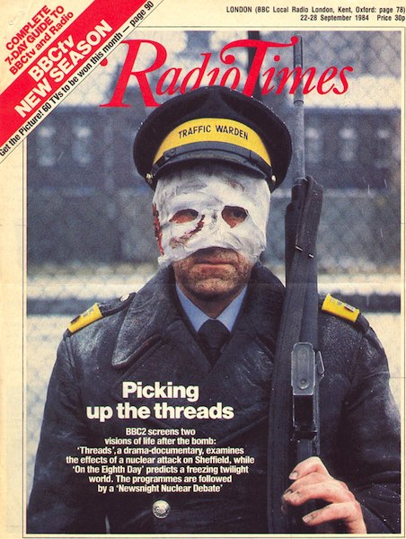 Radio Times Threads Traffic Warden (Doublethink)