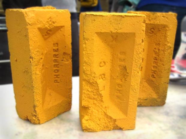 Yellow bricks, Art Car Boot Fair 2014