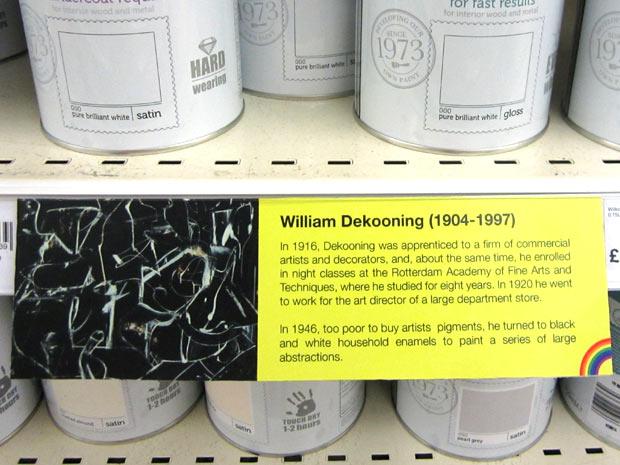 DeKooning text