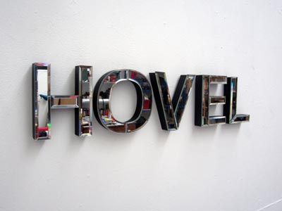 Hovel mirror (LOVE + HOME)