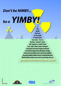 Don't be a NIMBY...